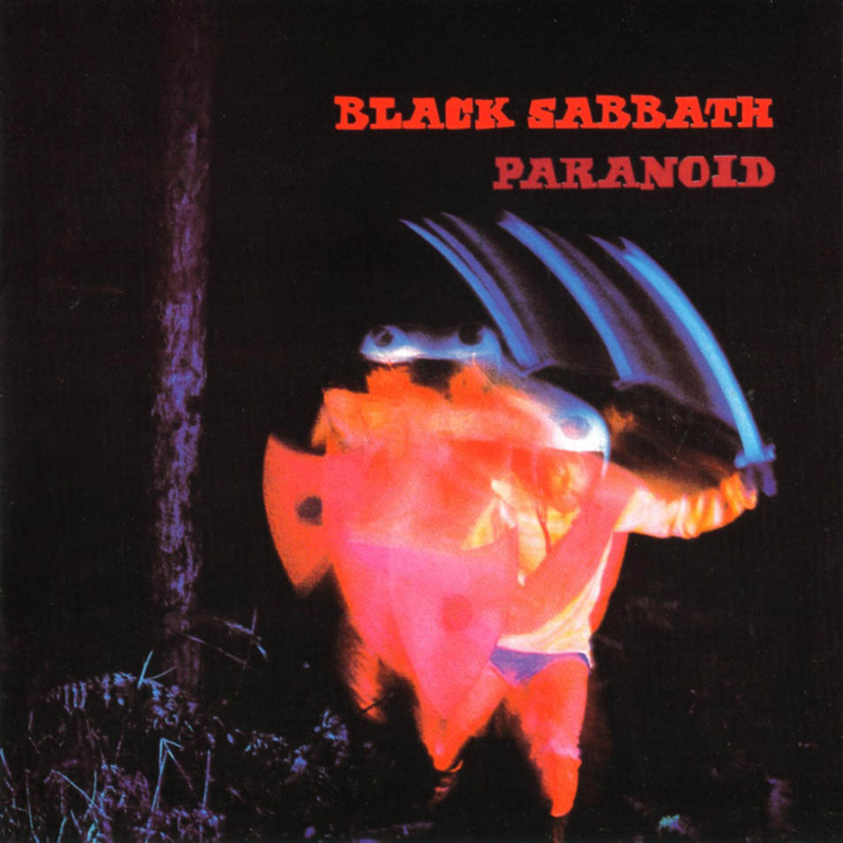 Black Sabbath Paranoid Frontal