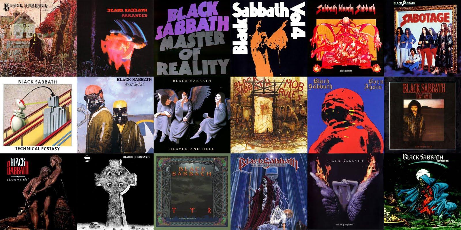 Discografia De Black Sabbath