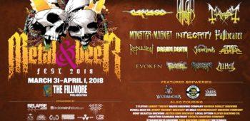 imagen de Decibel Metal & Beer Fest II. Marzo 31 -1 de Abril de 2018.