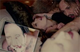 Johnny Depp Marilyn Manson Orgia Desnudo