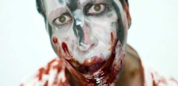 imagen de Sangre y desnudos en el nuevo vídeo de Marilyn Manson con Johnny Depp de invitado