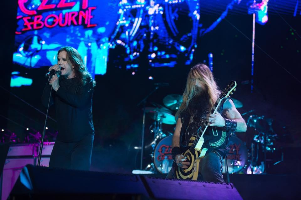 Ozzy Osbourne en vivo