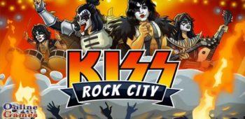 """imagen de """"KISS ROCK CITY"""", el nuevo videojuego de KISS para celulares"""