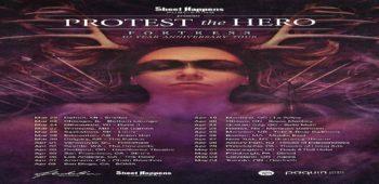 """imagen de PROTEST THE HERO  conmemora 10 años de su trabajo """"Fortress"""" , con una gira por américa del norte."""