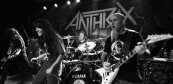 imagen de Charlie Benante se refiere al próximo disco de Anthrax.