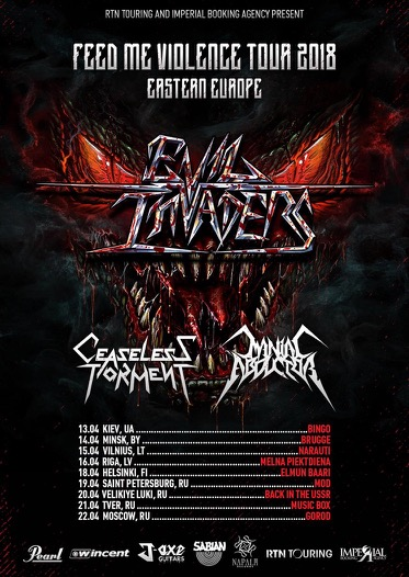 Evil Invaders Tour