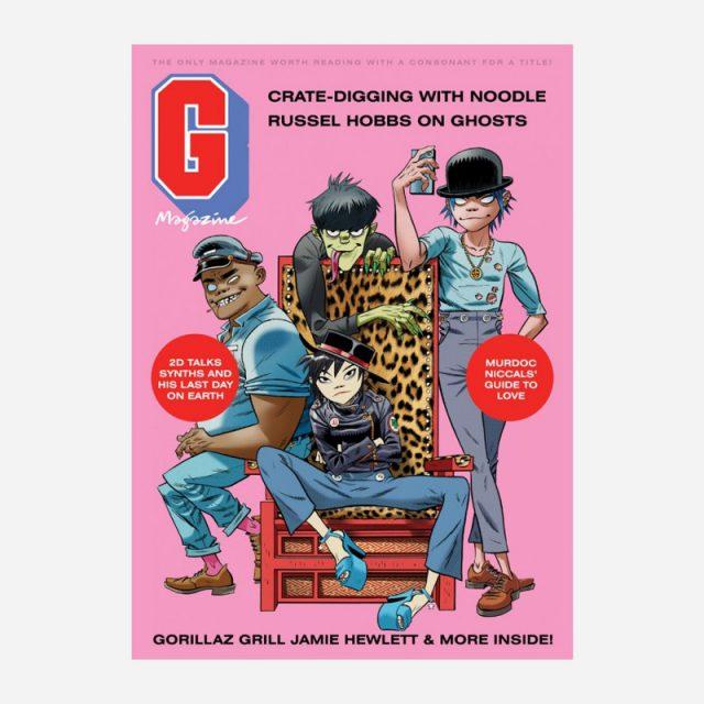 Gorillaz Gmagazine