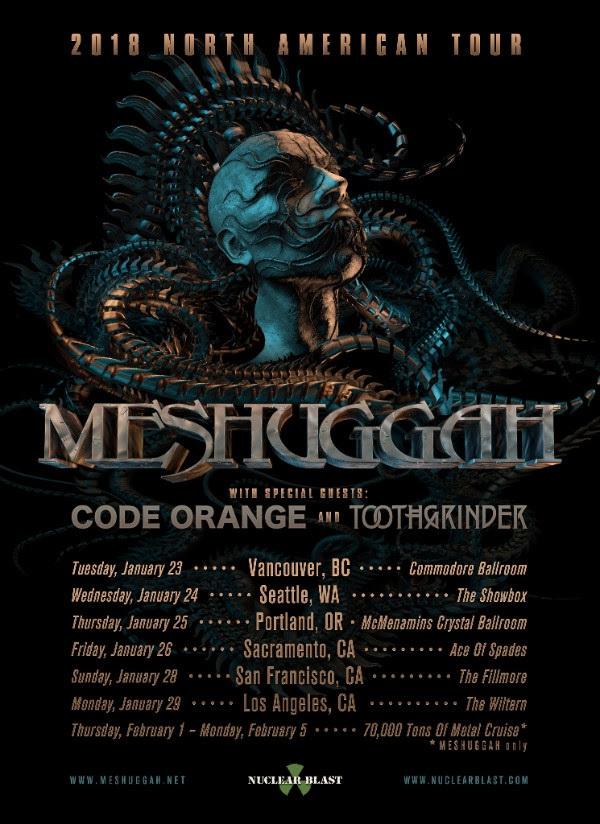 Meshuggah Codeorange