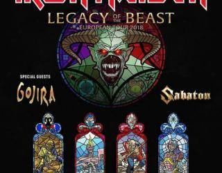 imagen de GOJIRA sera el telonero de IRON MAIDEN en España en el 2018 en la gira Legacy of the Beast.