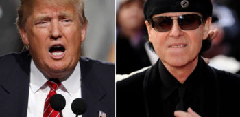 imagen de Scorpions se refiere al muro que Trump planea construir entre E.E.U.U Y MÉXICO.