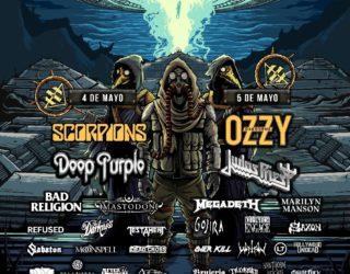 imagen de Llega el Corona Hell & Heaven 2018 en ciudad de México, aquí el cartel de bandas!!!