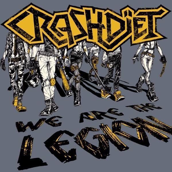 Crashdiet We Are Legion Caratula
