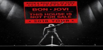 """imagen de Los icónos del rock """"BON JOVI"""" han anunciado las fechas de su gira """"This House Is Not For Sale""""."""