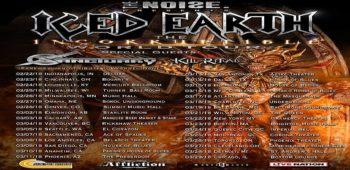 imagen de SANCTUARY de gira junto a ICED EARTH en honor a Warrel Dane.
