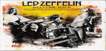 """imagen de Álbum en vivo de Led Zeppelin, """"How The West Was Won"""", será reeditado bajo la supervisión de Jimmy Page"""