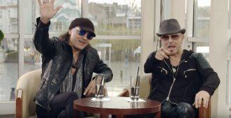 """imagen de Revisa detalles de la entrevista a los guitarristas de """"SCORPIONS"""" Rudolf Schenker y Matthias Jabs."""