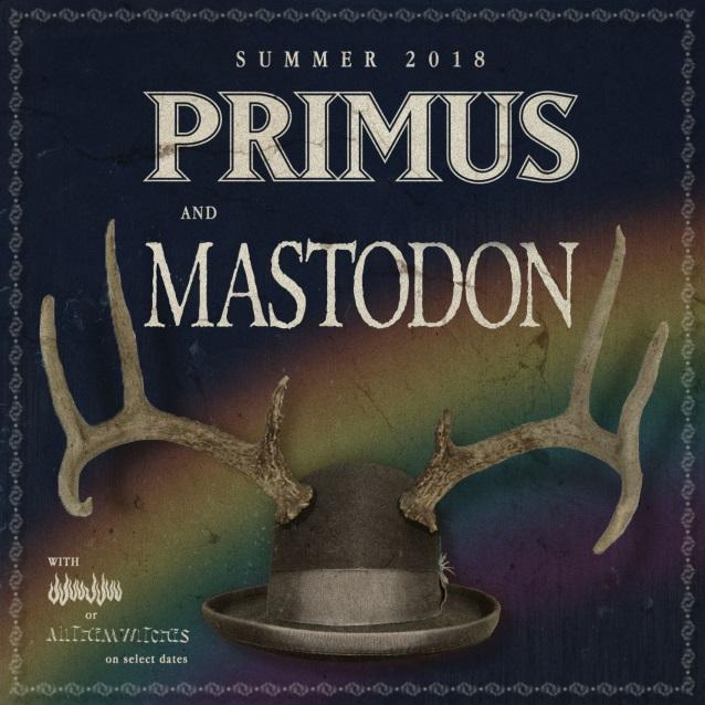 Primusmastodontour2018poster