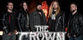 """imagen de THE CROWN y su reciente video de """" iron crown """" del álbum Cobra Speed Venon."""