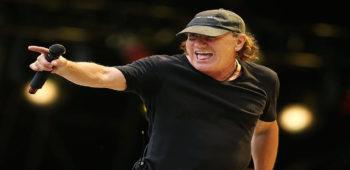 imagen de Brian Johnson en AC/DC: Por la forma en que lo miro, tuve una gran carrera.