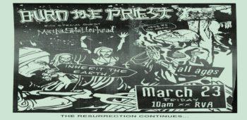 """imagen de LAMB OF GOD anuncia """"Burn The Priest"""" este viernes."""