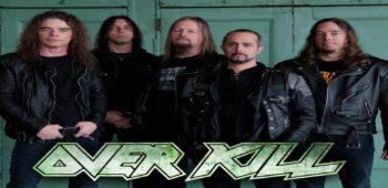 imagen de Overkill: Ex guitarrista crítica nueva versión en vivo.
