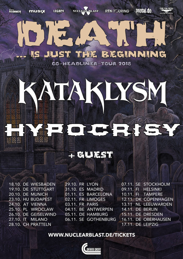 Kataklysm Tour 2018