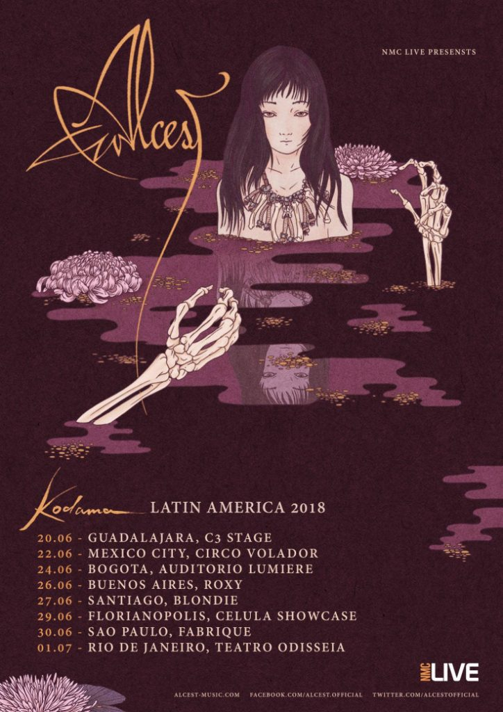 Alcest en Latinoamerica Tour