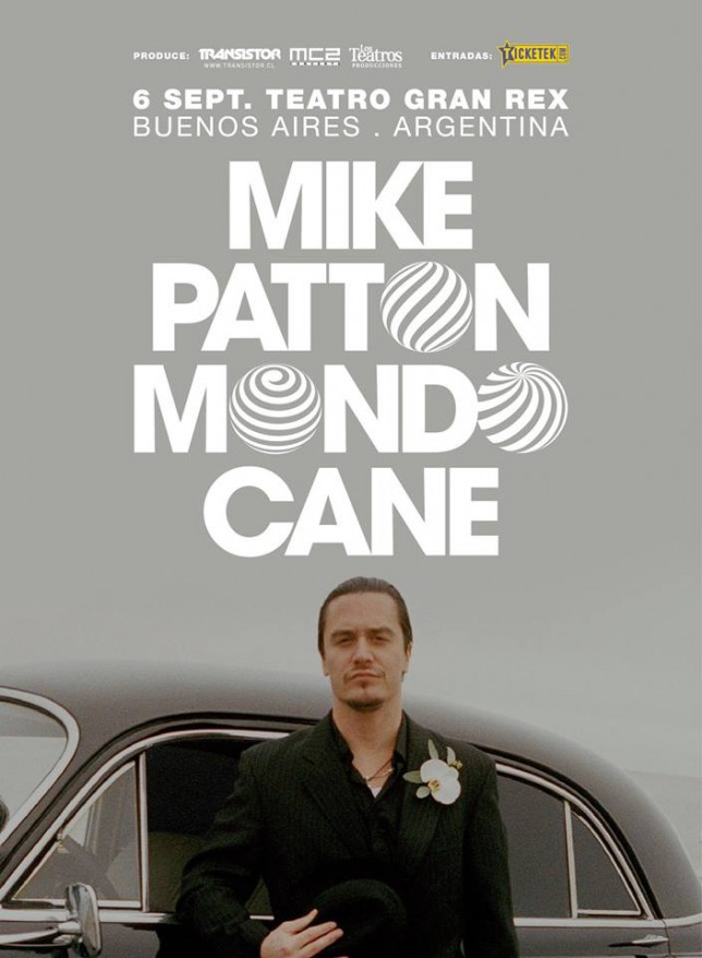 Mike Patton Mondo Cane Argentina