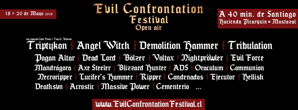 imagen de ¿Vas al Evil Confrontation Fest Open Air? Lo que debes saber sobre las bandas internacionles