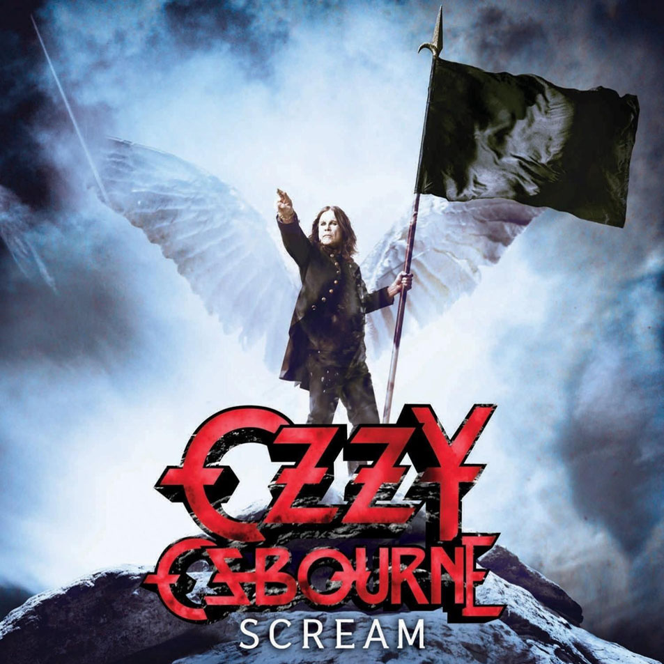 Ozzy Osbourne Scream Frontal