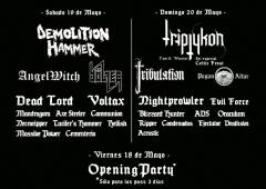 imagen de Especial EVIL CONFRONTATION FESTIVAL OPEN AIR: bandas nacionales e internacionales.