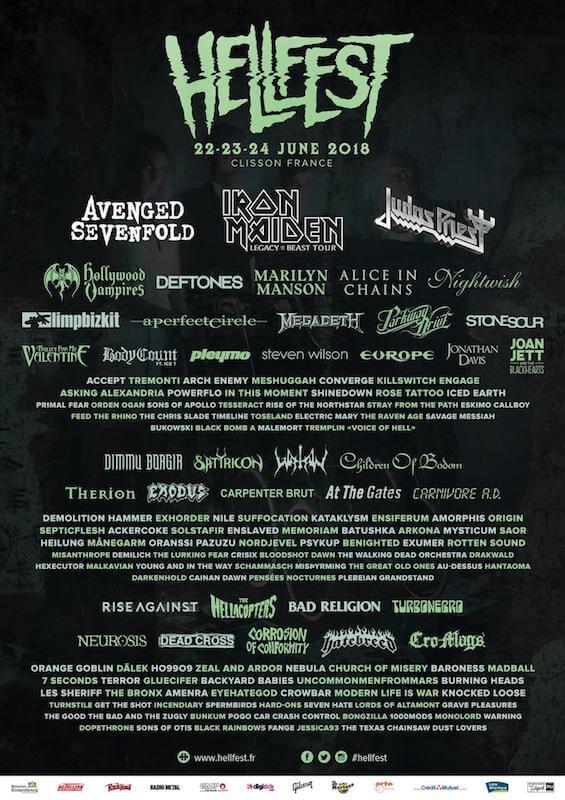 Hellfest 2018 Cartel