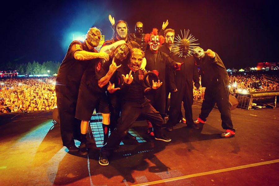 Slipknot Formacion 2018