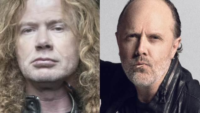 Dave Mustaine Lars Ulrich