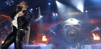 imagen de Iron Maiden lanza videoclip de Run To The Hills con material de su última gira