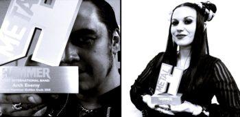imagen de ARCH ENEMY, LACUNA COIL, JUDAS PRIEST y más Ganadores  en el Metal Hammer Golden Gods Award Show.
