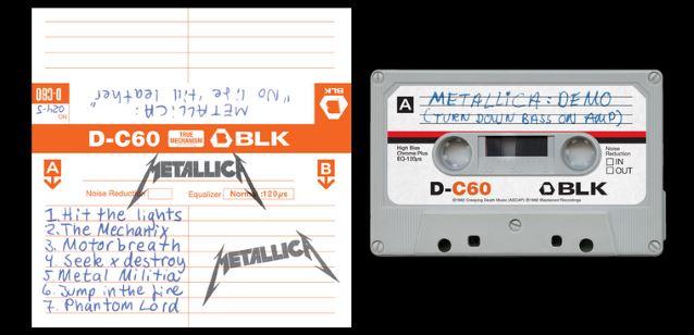 Metallica No Life Record Store.