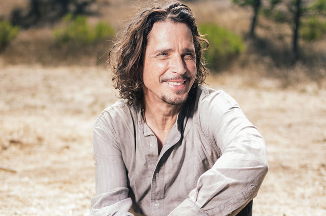 Chris Cornell Posa Para Un Retrato El 29 De Julio De 2015 En The Paramount Ranch En Agoura Hills, California.