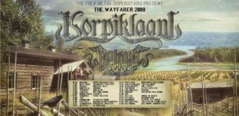 imagen de KORPIKLAANI y ARKONA juntos en una gira norteamericana en octubre y noviembre.