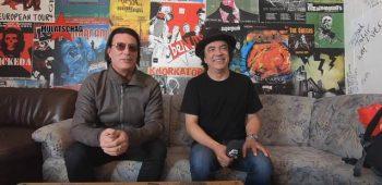 """imagen de Sean Kinney y Mike Inez (PANTERA): """"Vinnie Paul era un baterista aplastante y un gran tipo en todos lados""""."""