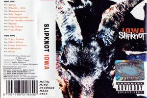 imagen TOP: Aniversario 17 del disco Iowa de SLIPKNOT clasificadas de la mejor a la peor