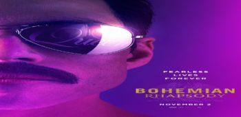 imagen de Bohemian Rhapsody, película biográfica de QUEEN es nominada en dos categorías en los premios GOLDEN GLOBE.