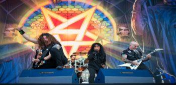 imagen de Anthrax y Testament confirmados en el crucero de Megadeth