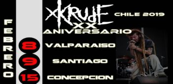 imagen de El paso de XKRUDE por Chile