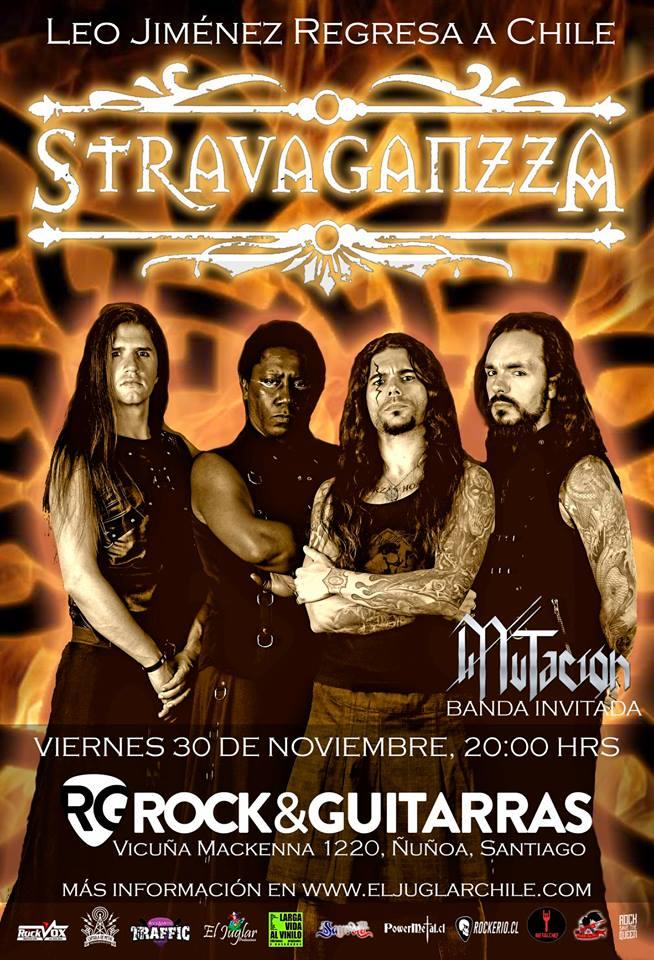 Stravaganzza En Chile 2018