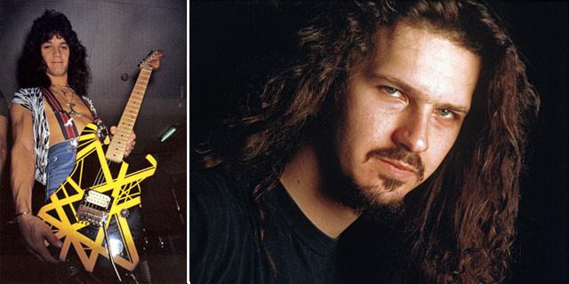 Dimebag Darrell Eddie Van Halen