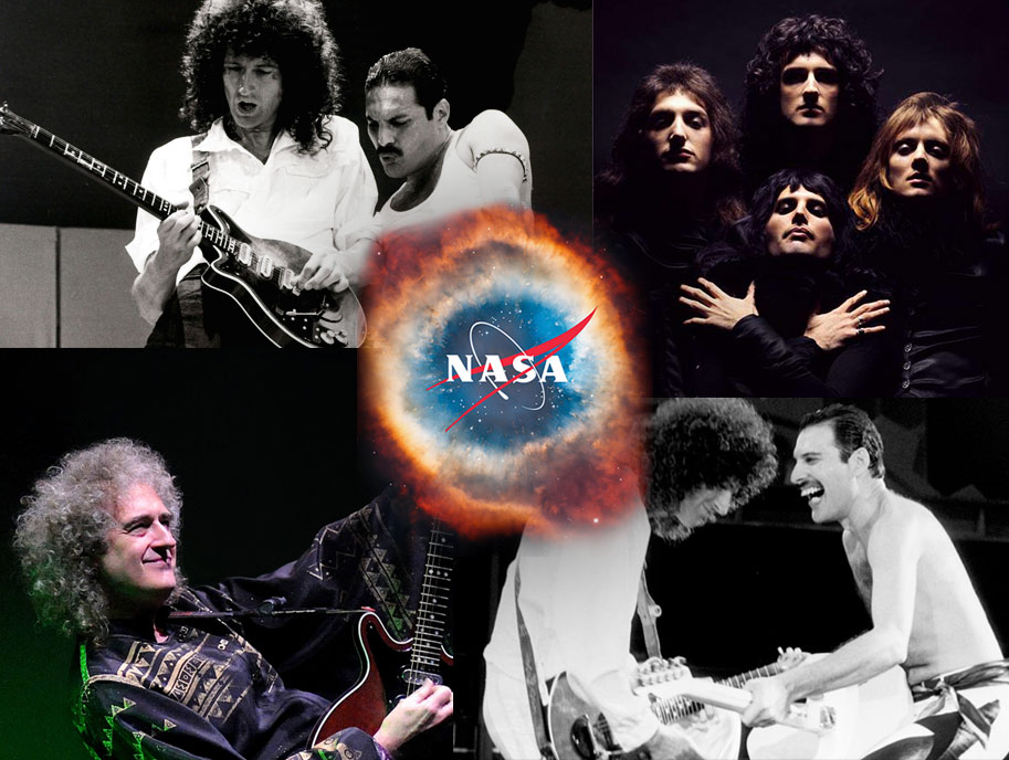 Brian May Nasa Queen