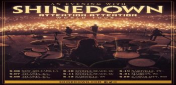 imagen de La serie de shows íntimos de Shinedown