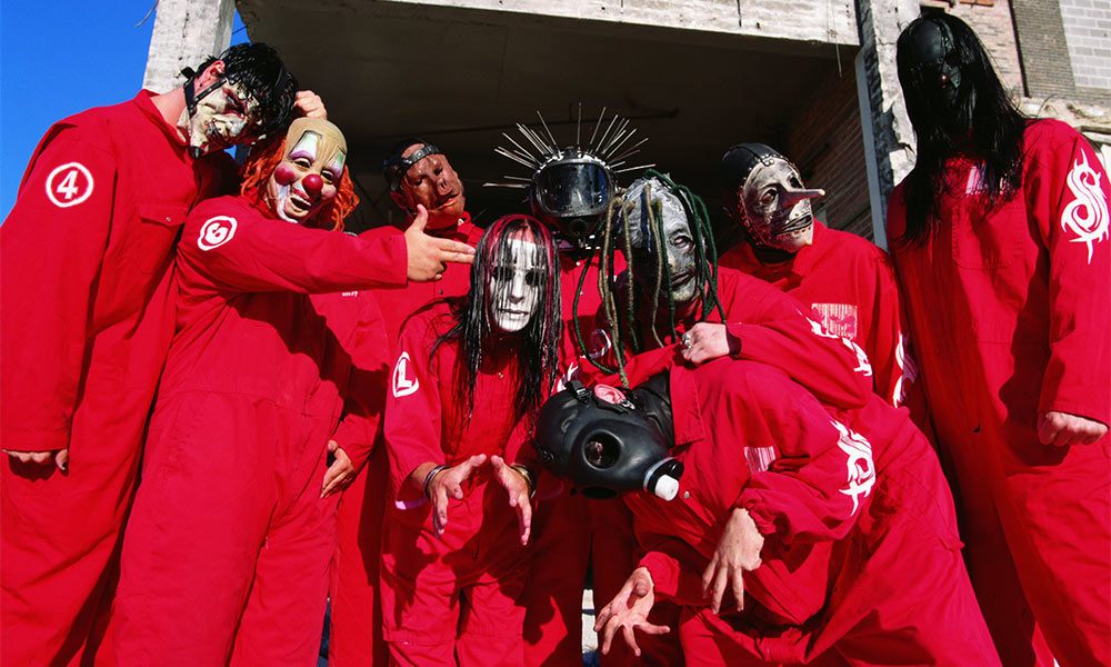 10 Years Challenge Slipknot