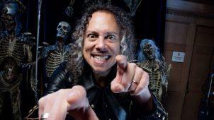 """imagen de Kirk Hammett: """"Tengo mucho material para el próximo álbum de Metallica"""""""